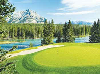 Banff, Alberta Golf Course