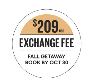 Destination Fall Promo Badge