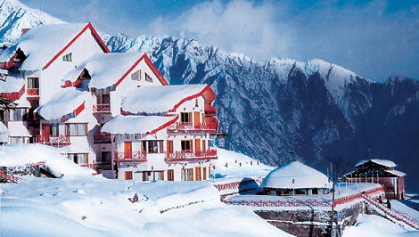 View resorts in Auli